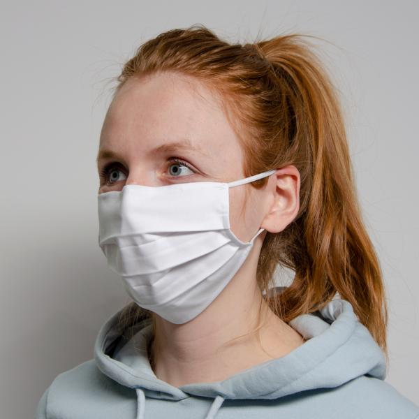 Standardmaske weiß (50 Stück)