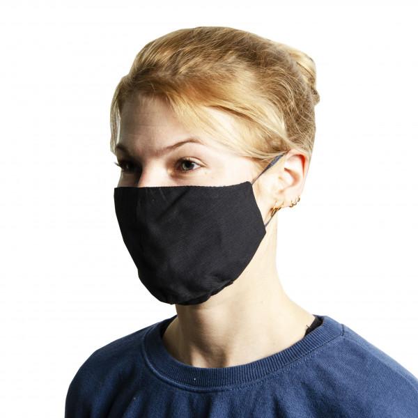 Wendemaske schwarz (50 Stück)