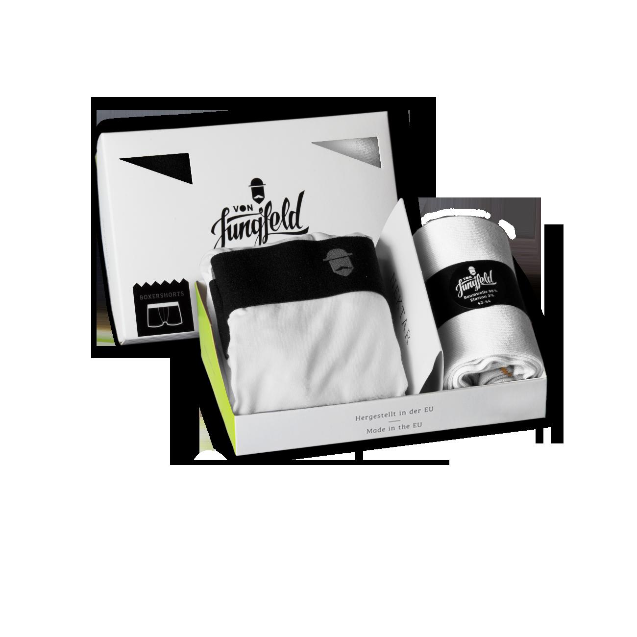 boxershorts boxerbriefs f r m nner von jungfeld von jungfeld bunte und farbige. Black Bedroom Furniture Sets. Home Design Ideas