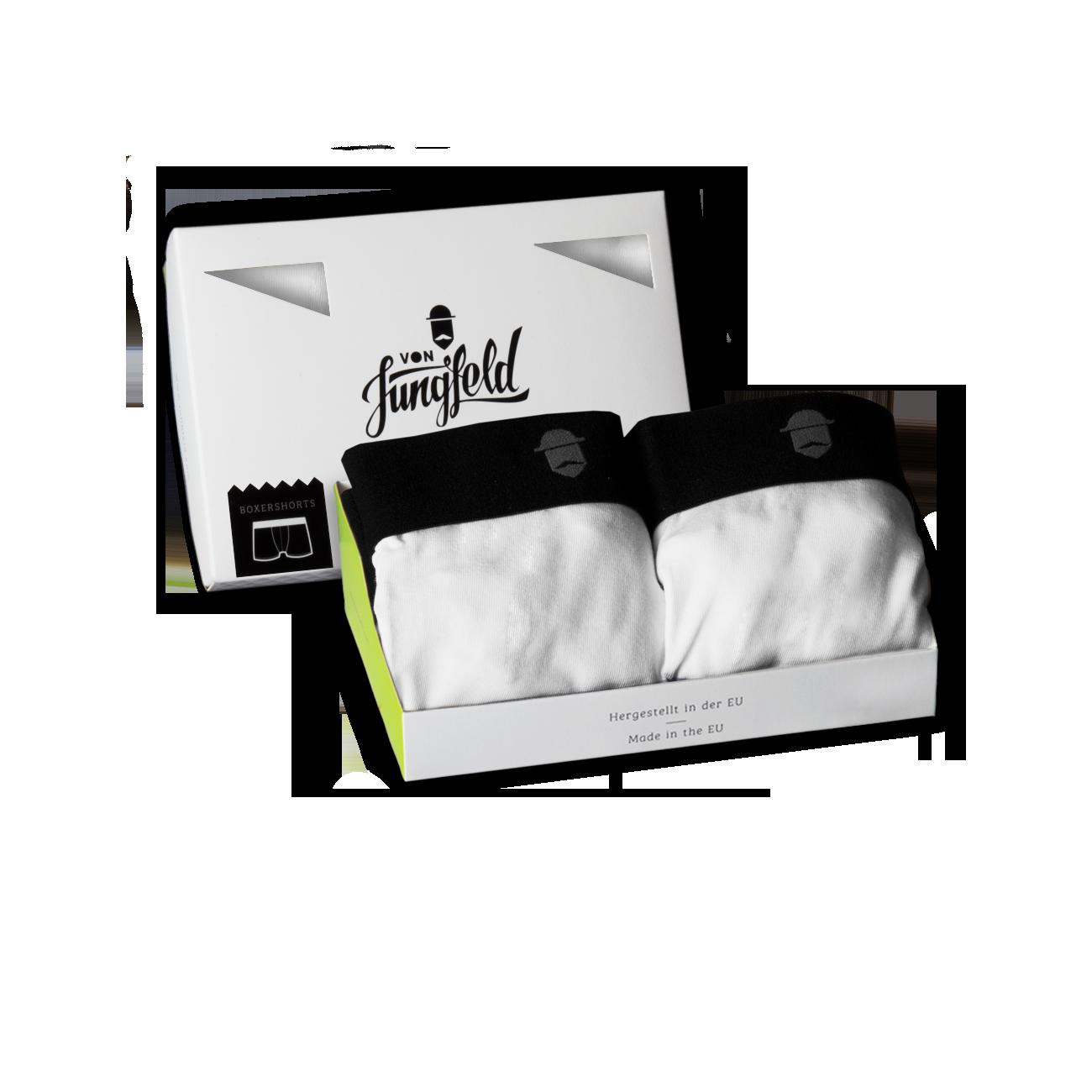 2er box arktis boxershorts von jungfeld bunte und farbige herrensocken und boxershorts. Black Bedroom Furniture Sets. Home Design Ideas